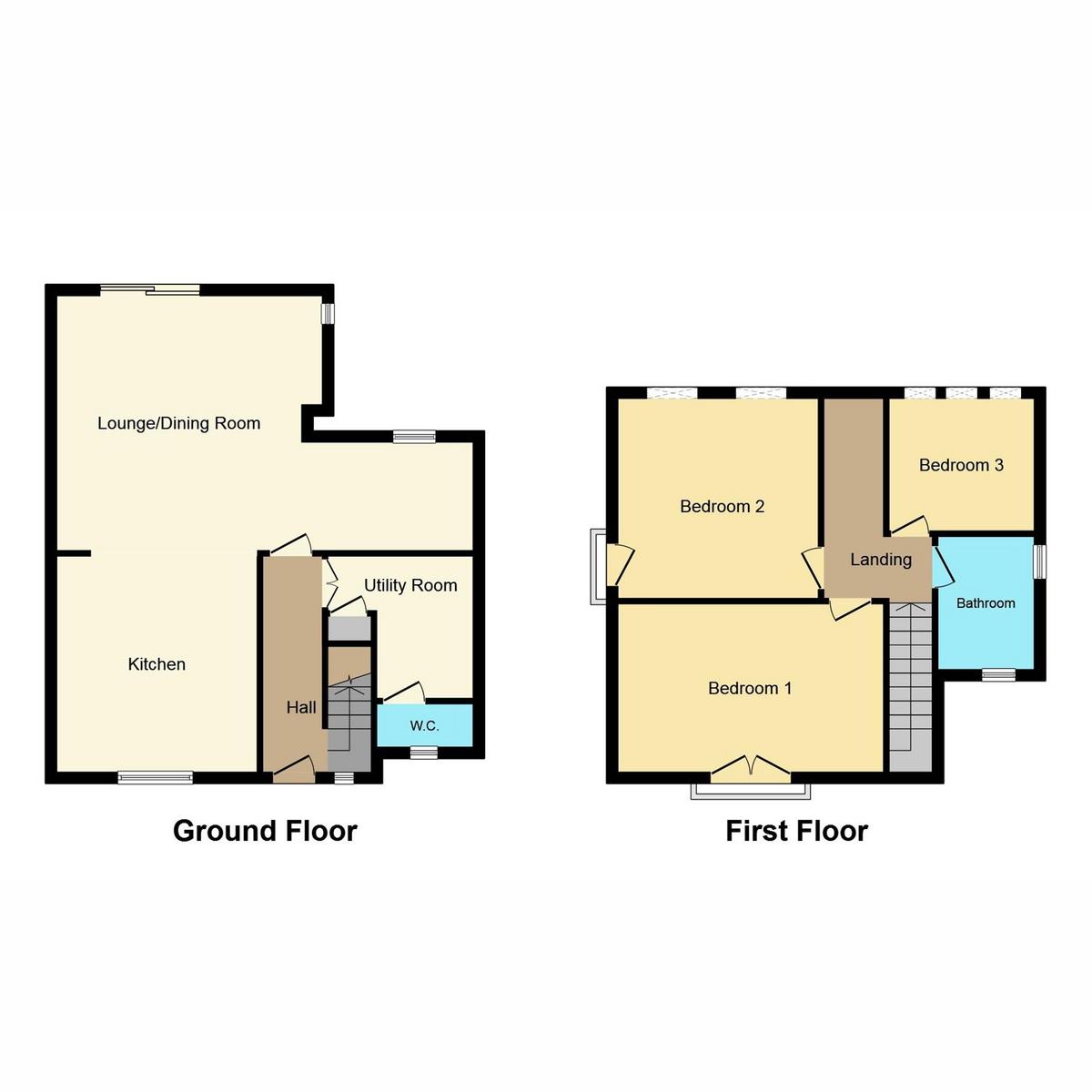 Floorplan 1 of Canewdon Road, Westcliff-on-sea, SS0