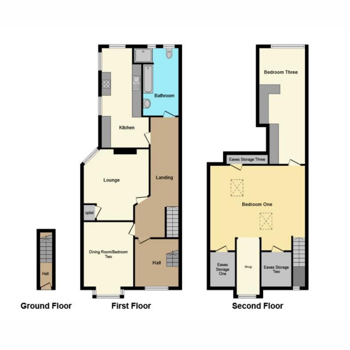 Floorplan 1 of Westborough Road, Westcliff-on-sea, SS0