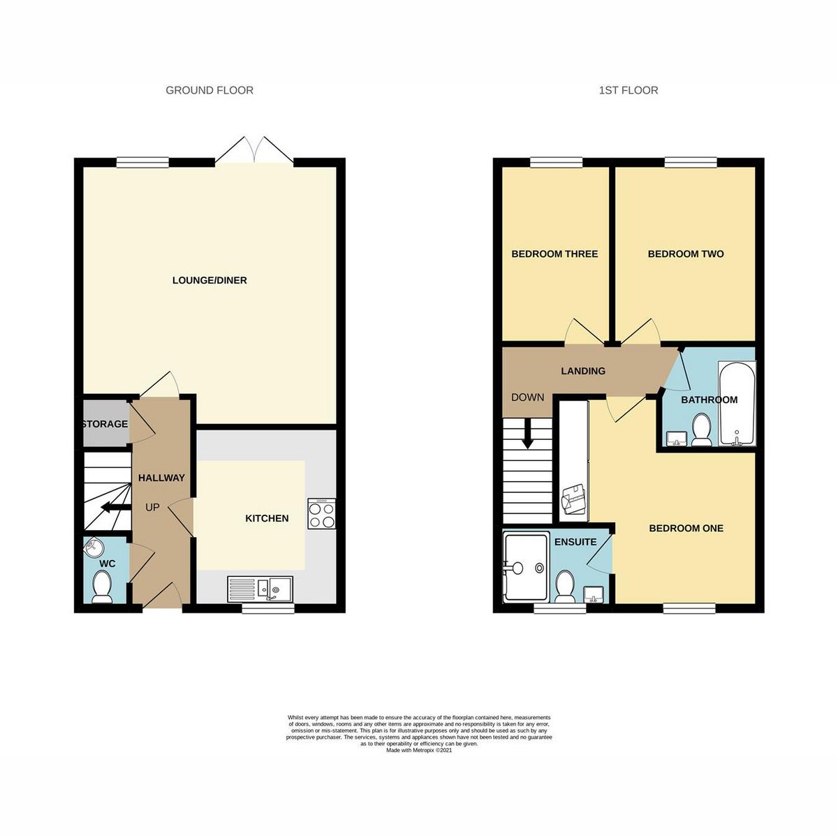 Floorplan 1 of Thorpe Hall Avenue, Southend-on-sea, SS1
