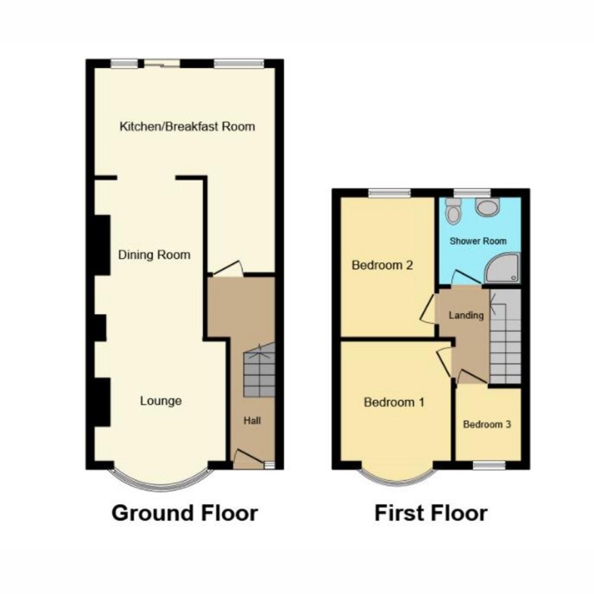 Floorplan 1 of Rochester Drive, Westcliff-on-sea, SS0
