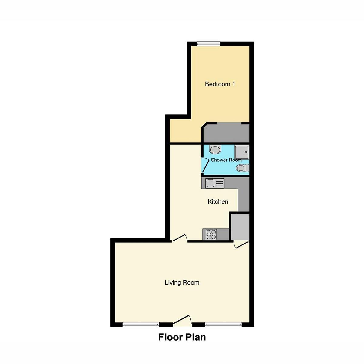 Floorplan 1 of East Street, Southend-on-sea, SS2