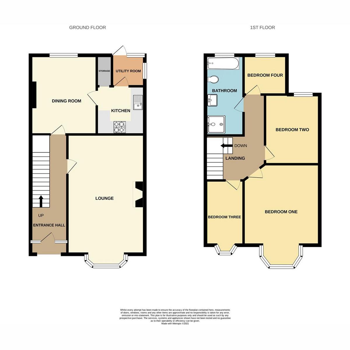 Floorplan 1 of Portland Avenue, Southend-on-sea, SS1