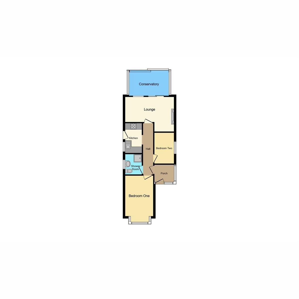 Floorplan 1 of Heycroft Road, Leigh-on-sea, SS9