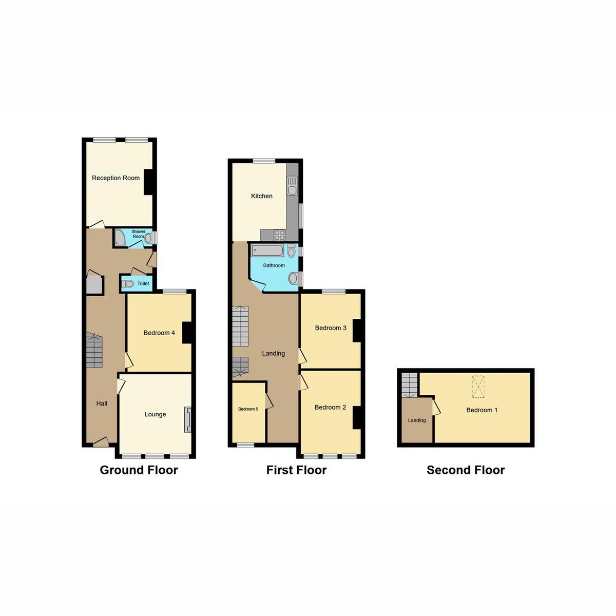 Floorplan 1 of Burdett Avenue, Westcliff-on-sea, SS0