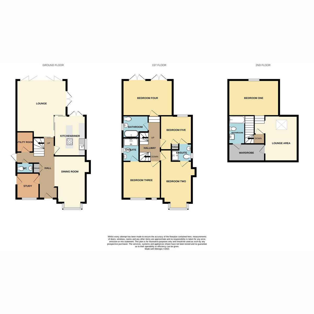 Floorplan 1 of Hobleythick Lane, Westcliff-on-sea, SS0