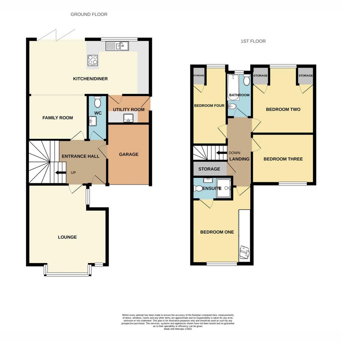 Floorplan 1 of Wambrook, Shoeburyness, SS3