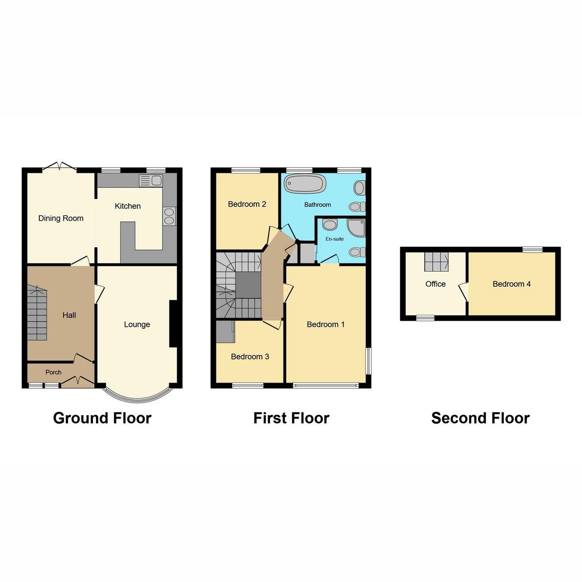 Floorplan 1 of Mayfield Avenue, Southend-on-sea, SS2