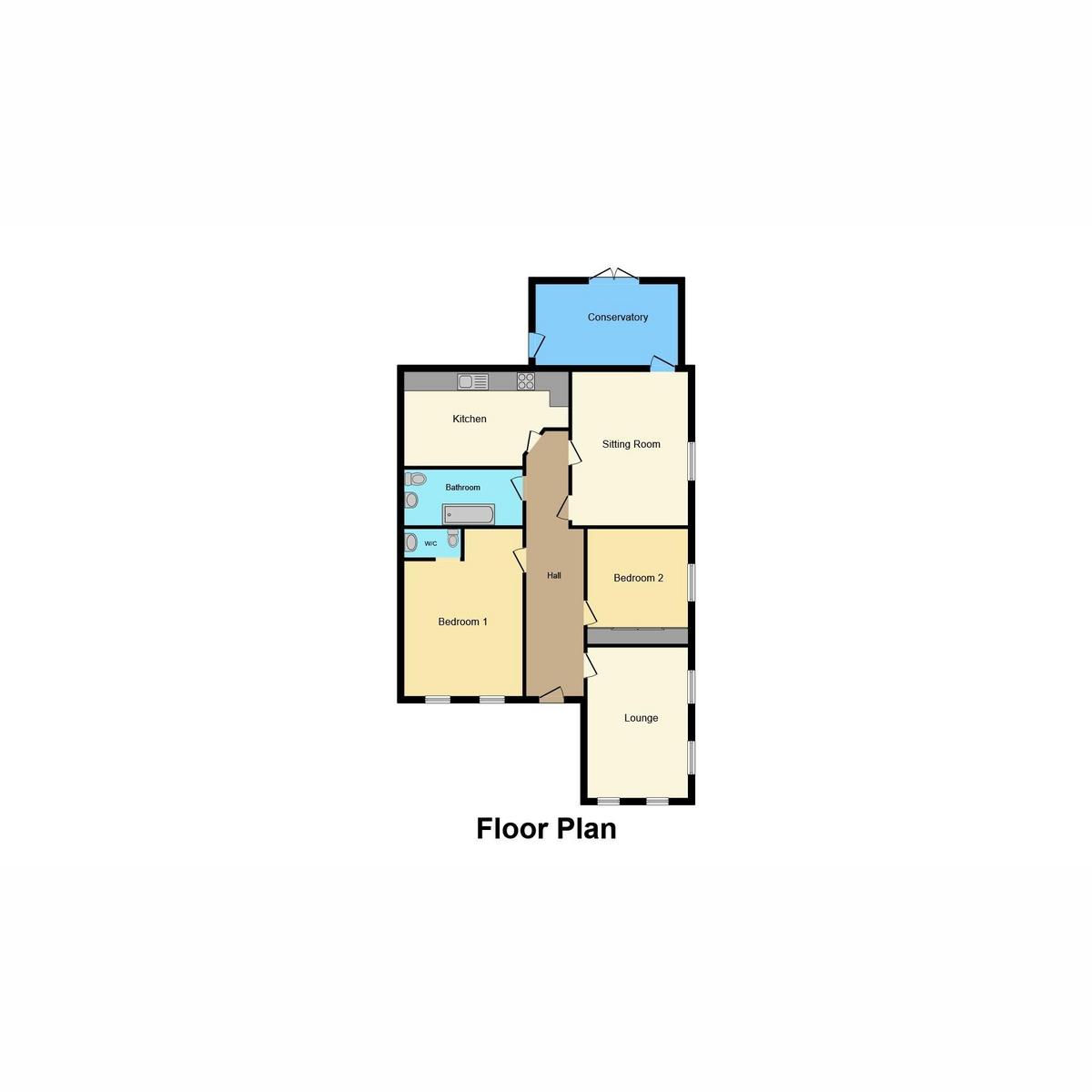 Floorplan 1 of Midhurst Avenue, Westcliff-on-sea, SS0