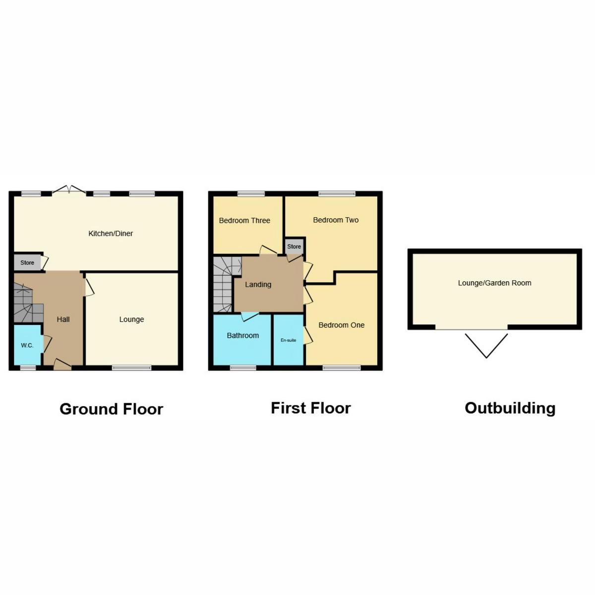Floorplan 1 of Charles Crescent, Rochford, SS4