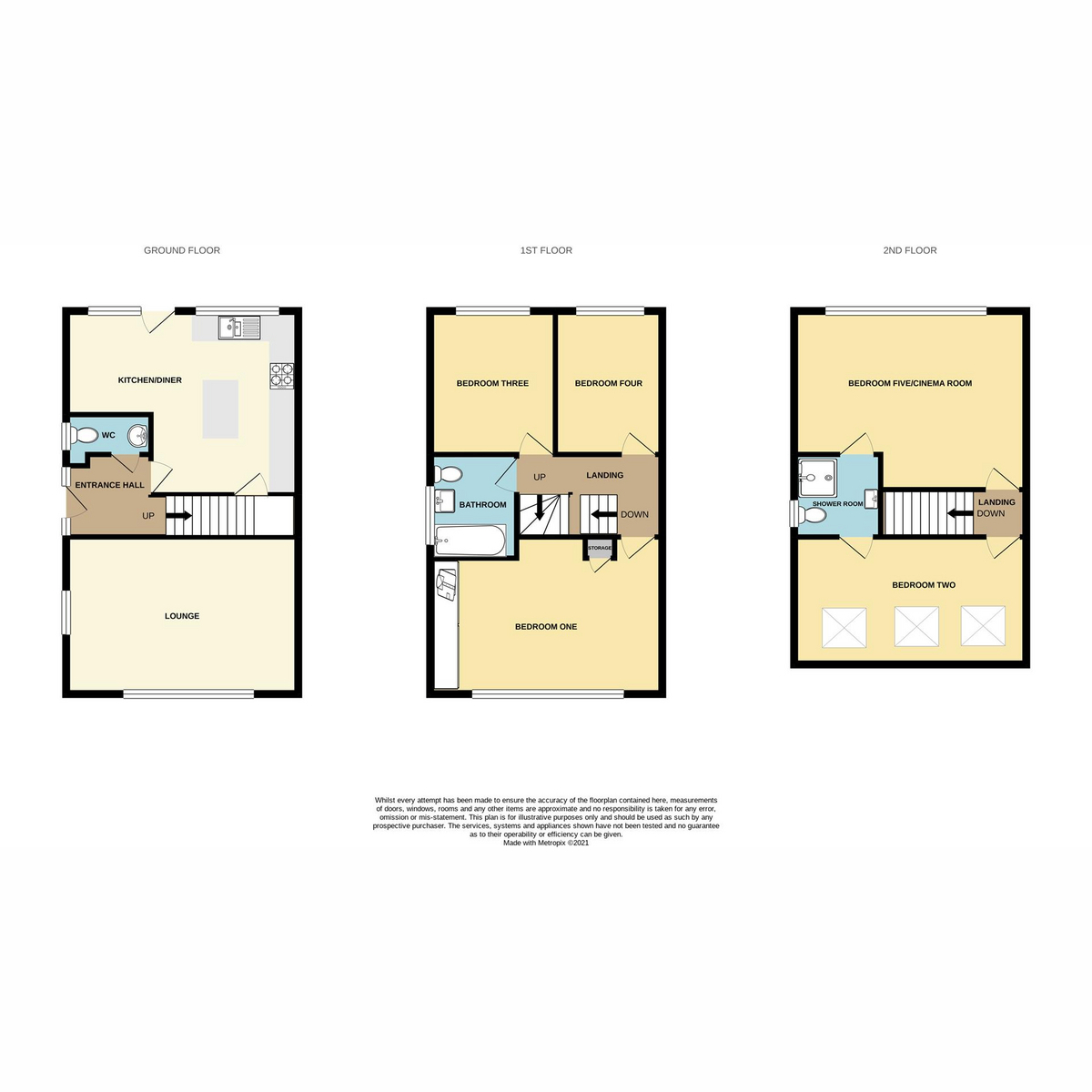 Floorplan 1 of Roseberry Avenue, Benfleet, SS7