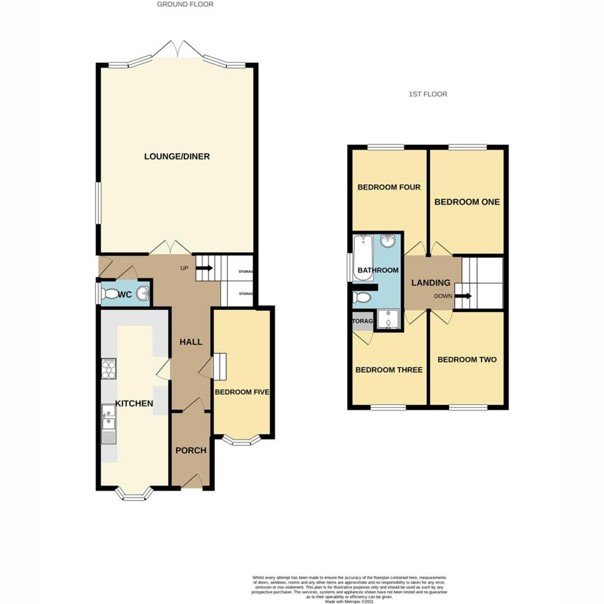 Floorplan 1 of Hazlemere Road, Benfleet, SS7