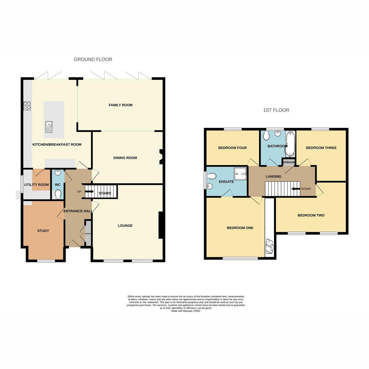 Floorplan 1 of Hackamore, Benfleet, SS7
