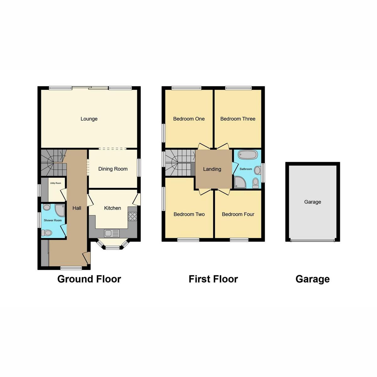 Floorplan 1 of Mount Road, Benfleet, SS7