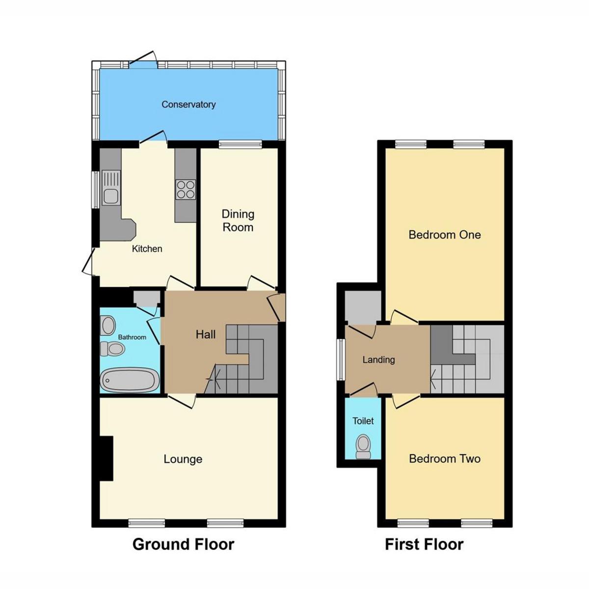Floorplan 1 of Oakfield Road, Benfleet, SS7
