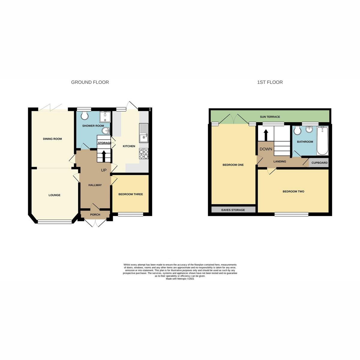 Floorplan 1 of Cliff Avenue, Leigh-on-sea, SS9