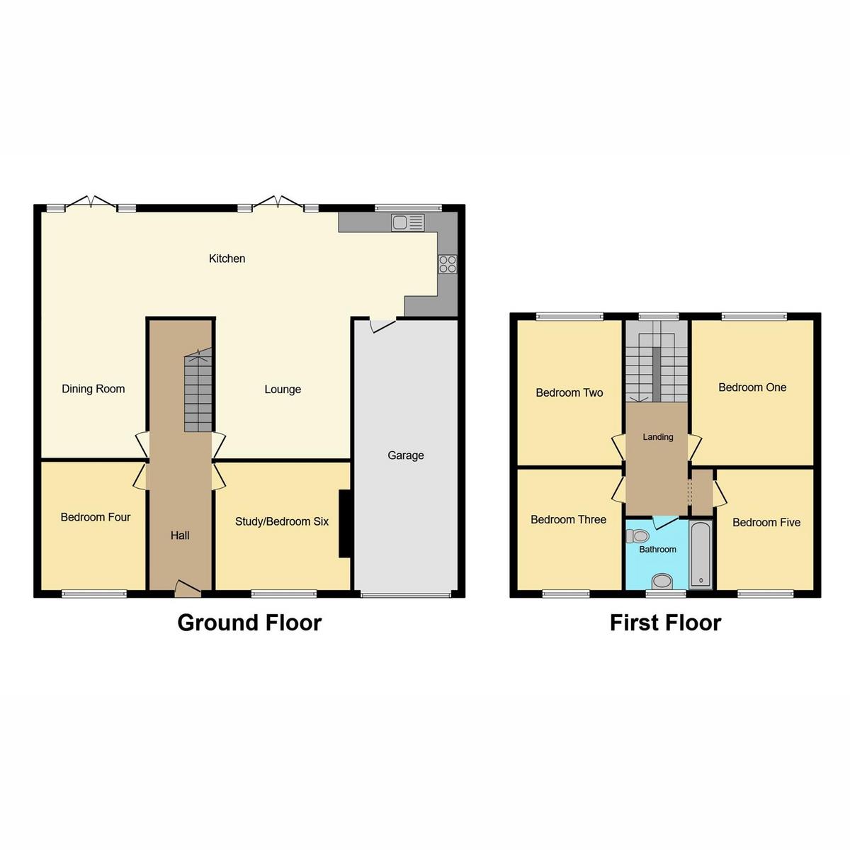 Floorplan 1 of Templewood Road, Hadleigh, SS7