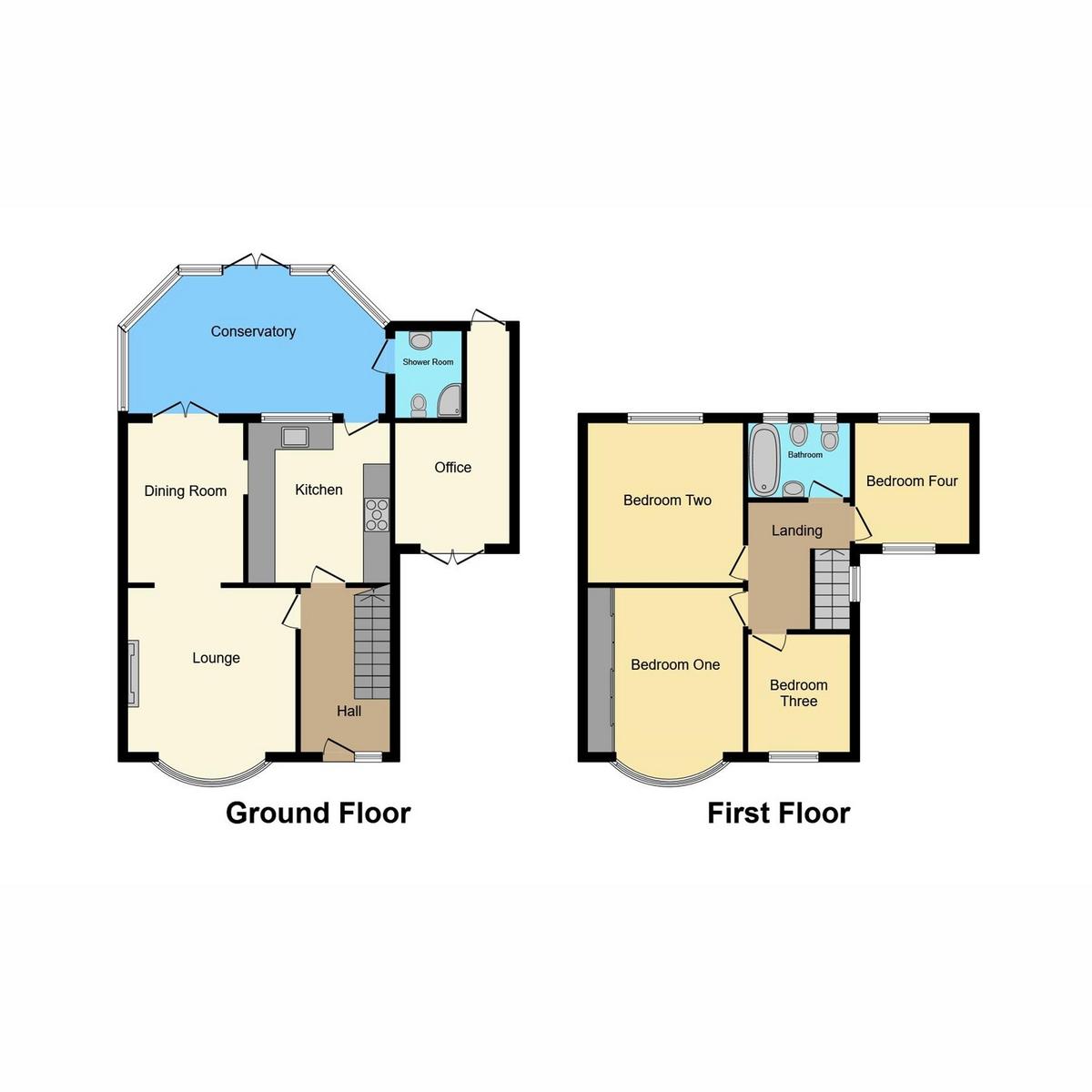 Floorplan 1 of Woodside, Leigh-on-sea, SS9