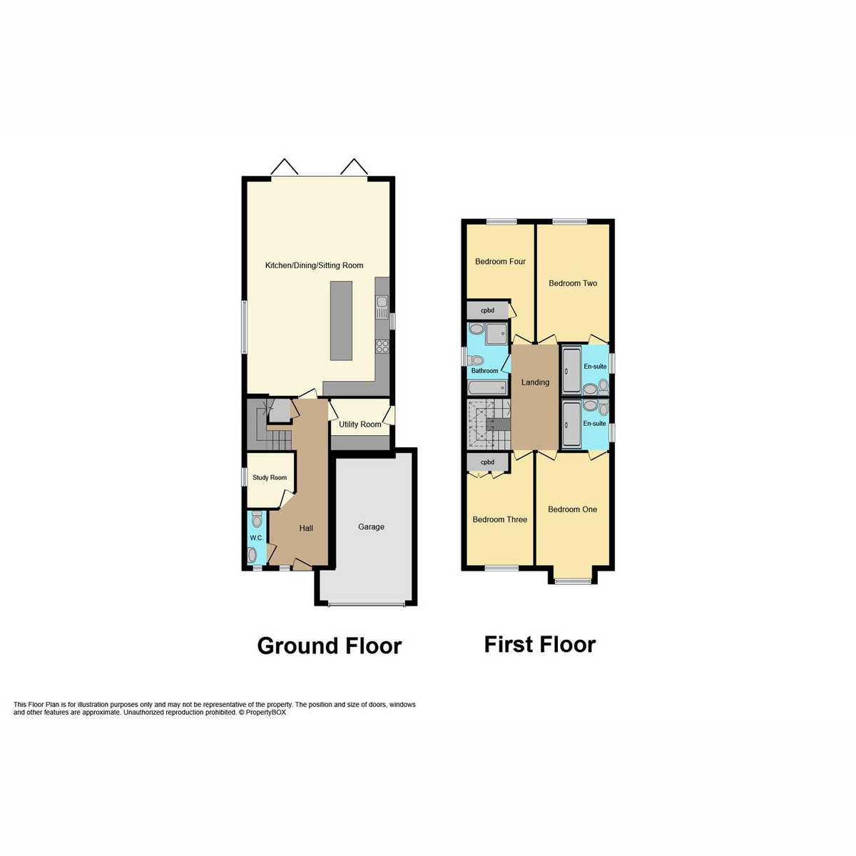 Floorplan 1 of Grasmere Avenue Hullbridge, Hockley, SS5