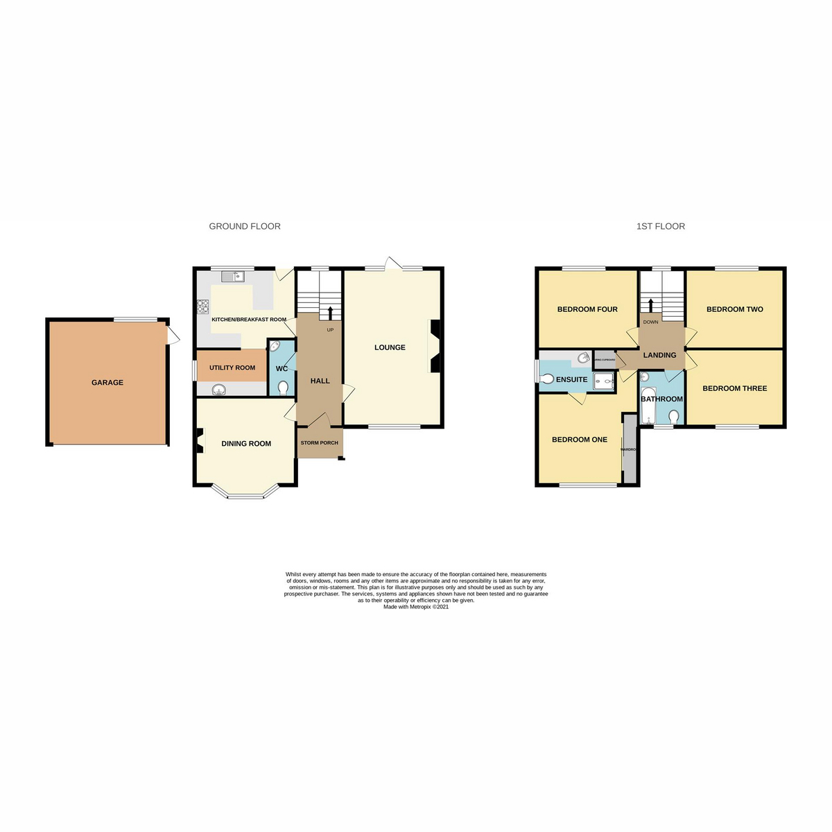 Floorplan 1 of Kent Green Close, Hockley, SS5