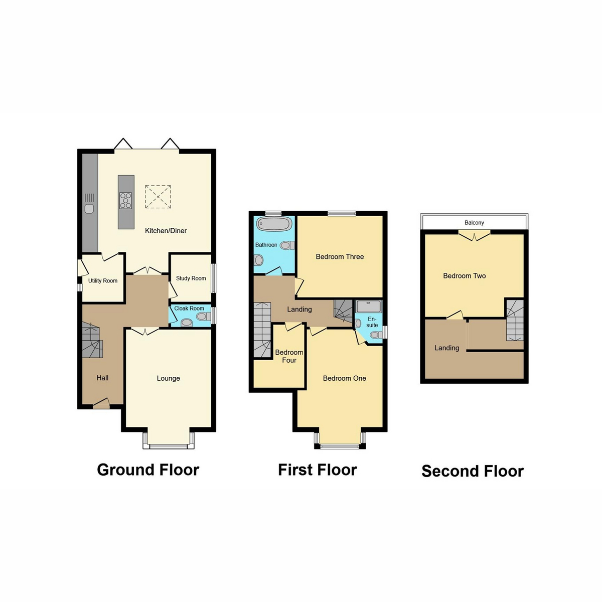 Floorplan 1 of Manchester Drive, Leigh-on-sea, SS9