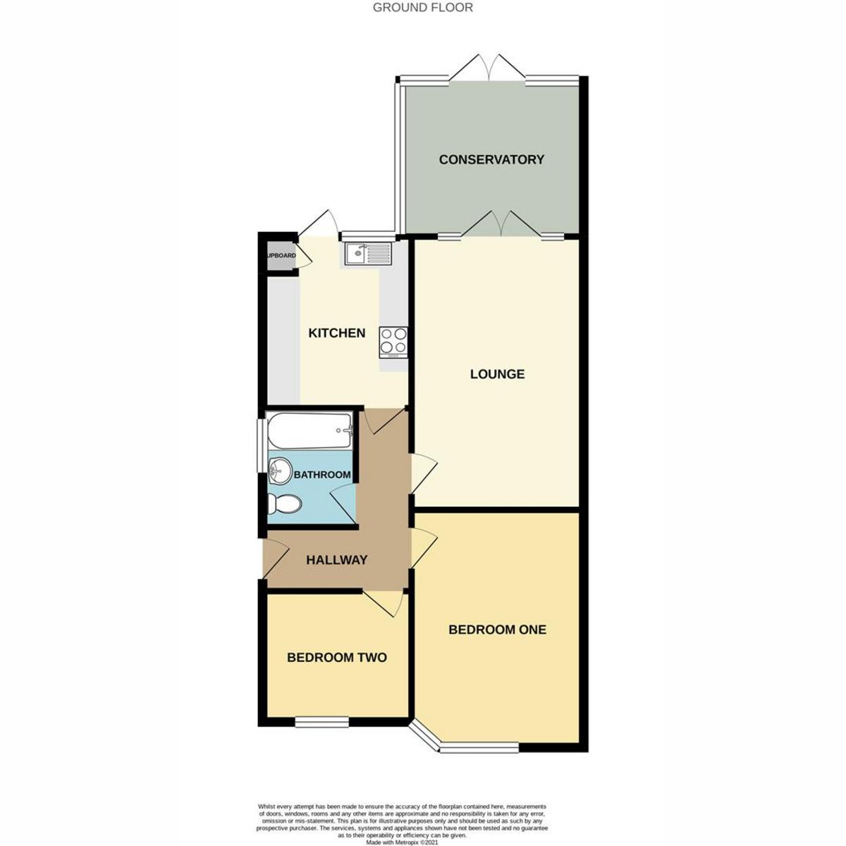 Floorplan 1 of Belgrave Road, Leigh-on-sea, SS9