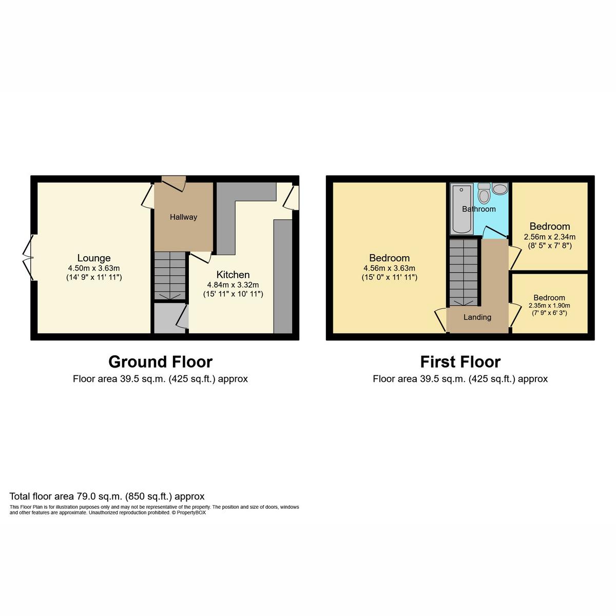 Floorplan 1 of Overton Close, Benfleet, SS7