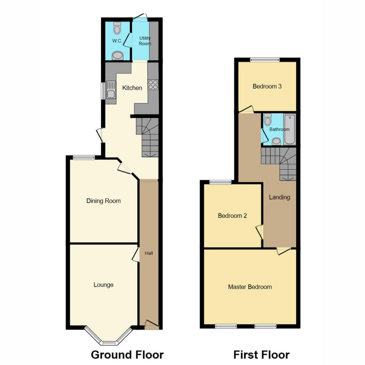Floorplan 1 of North Road, Westcliff-on-sea, SS0