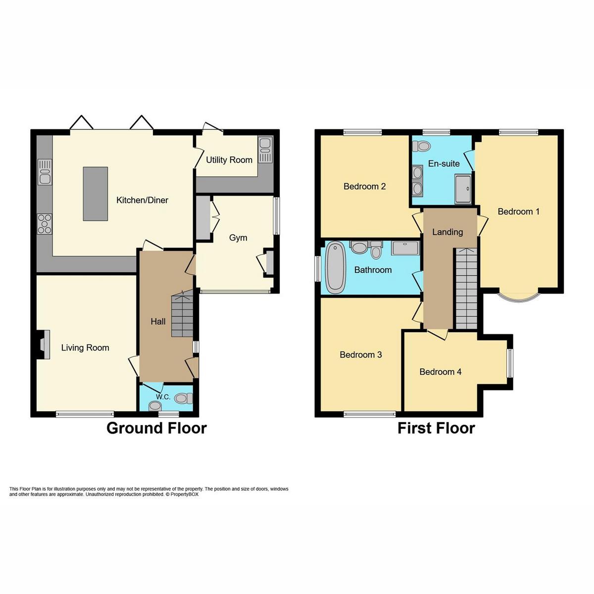 Floorplan 1 of Oak Walk, Benfleet, SS7