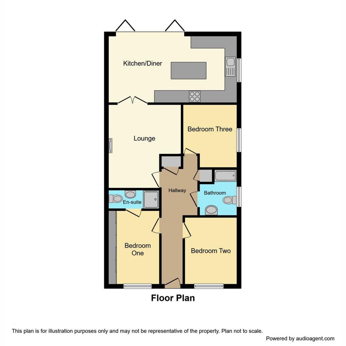 Floorplan 1 of Elm View Road, Benfleet, SS7