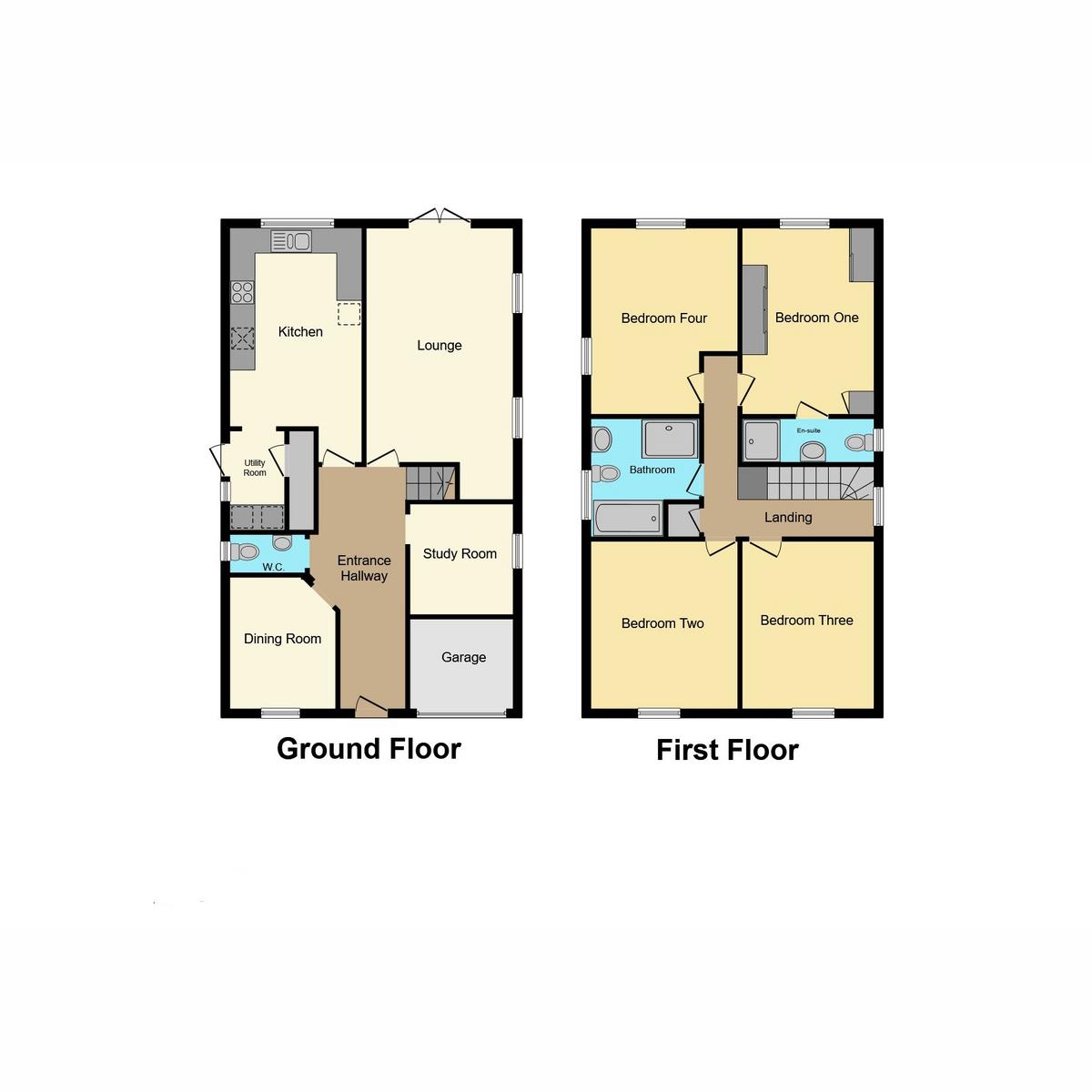 Floorplan 1 of The Westerings, Hockley, SS5