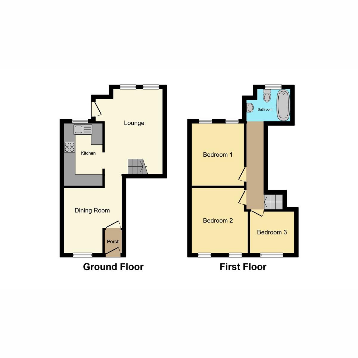 Floorplan 1 of Lesney Gardens, Rochford, SS4