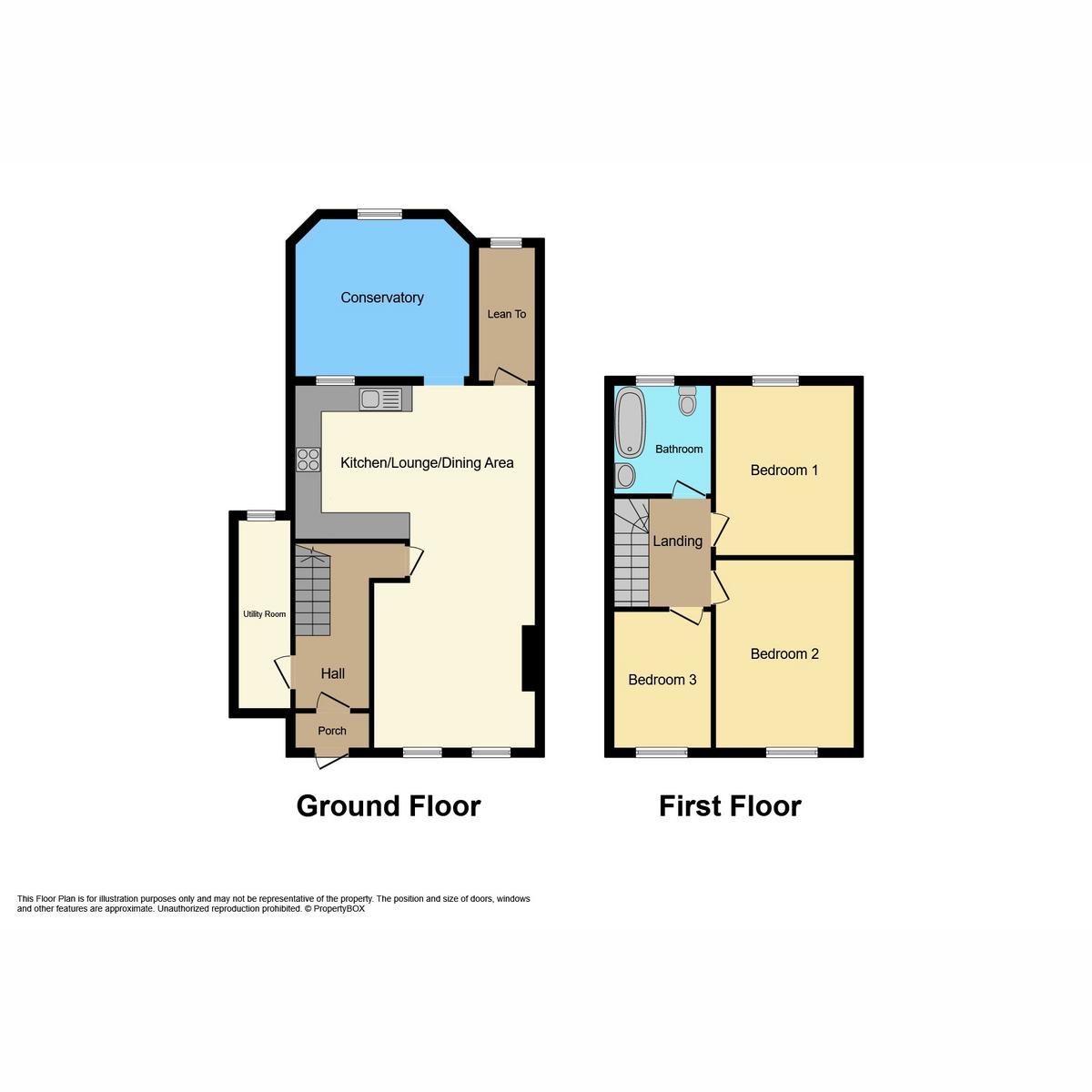 Floorplan 1 of North Avenue, Southend-on-sea, SS2