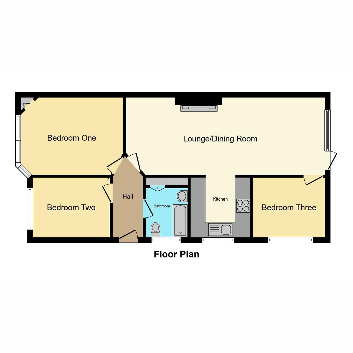 Floorplan 1 of London Road, Benfleet, SS7