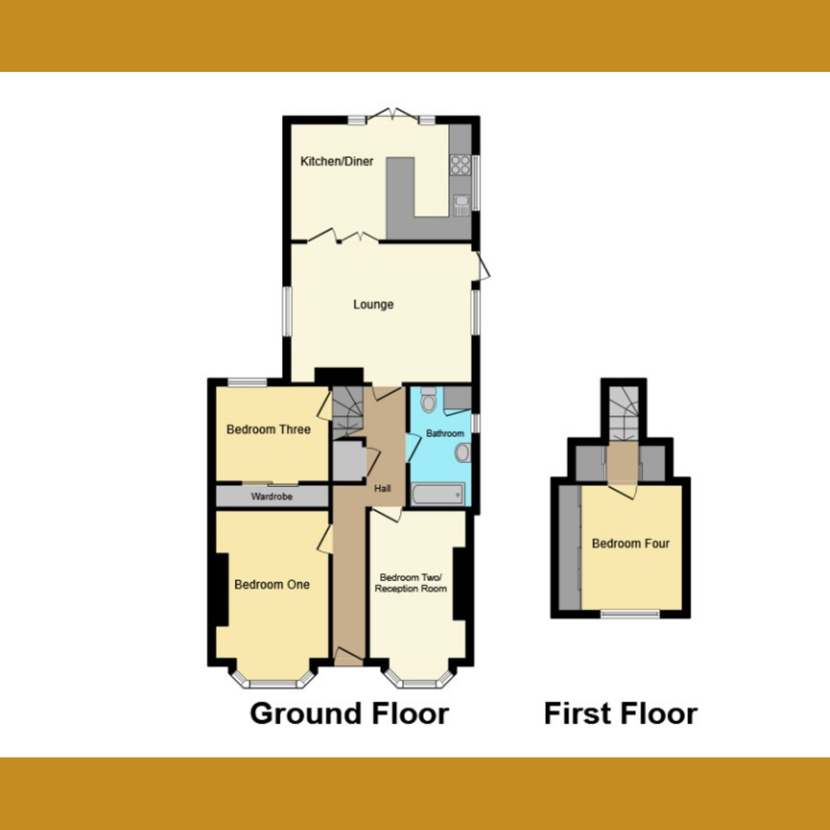 Floorplan 1 of Cumberland Avenue, Southend-on-sea, SS2