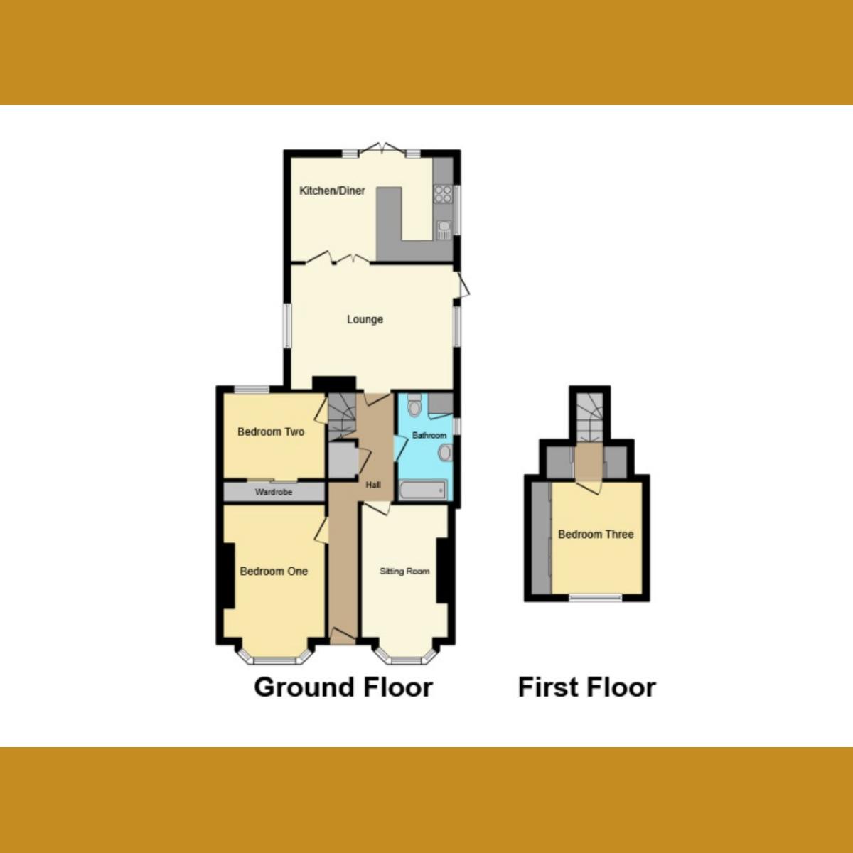 Floorplan 2 of Cumberland Avenue, Southend-on-sea, SS2