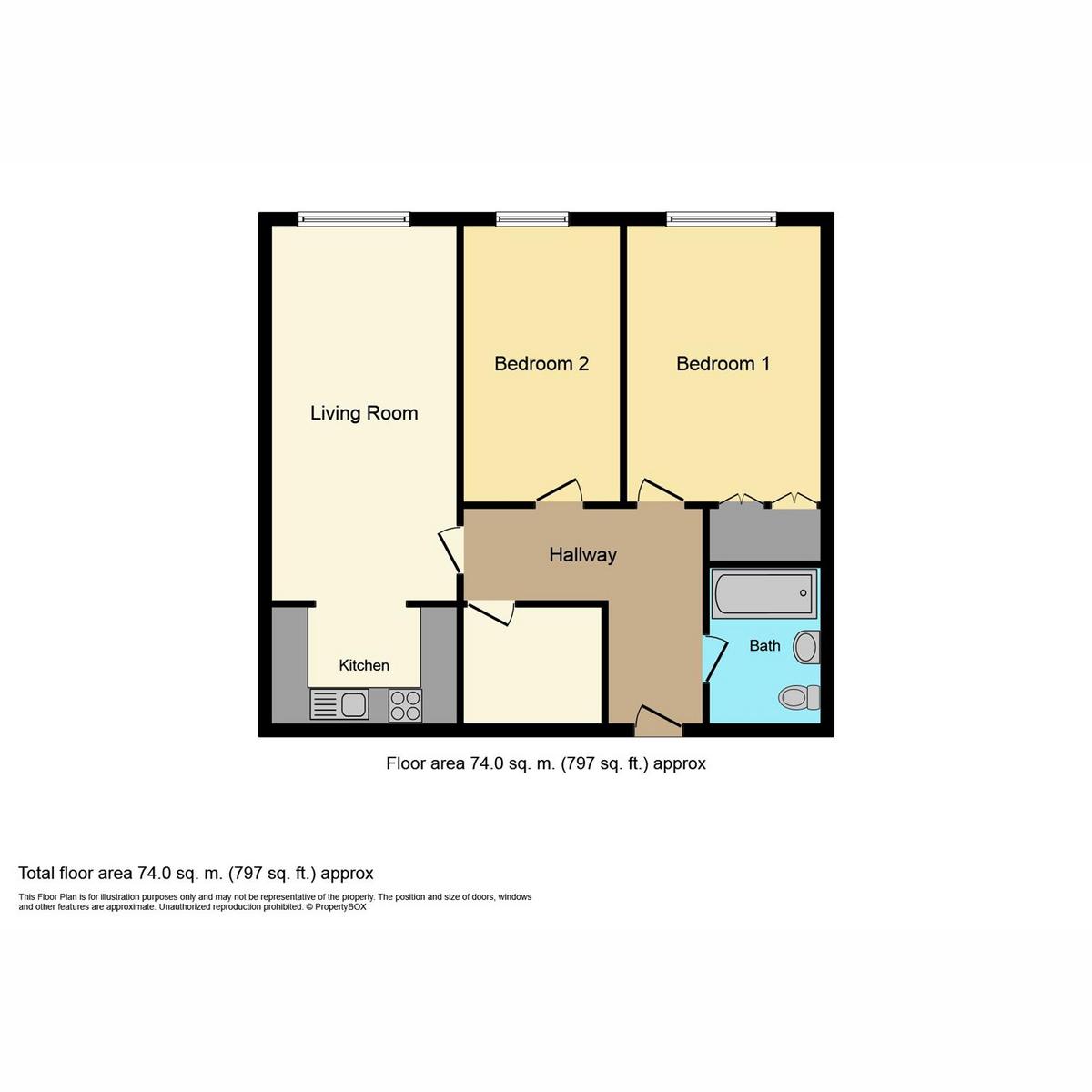 Floorplan 1 of Waters Mead Thorpe Hall Avenue, Southend-on-sea, SS1