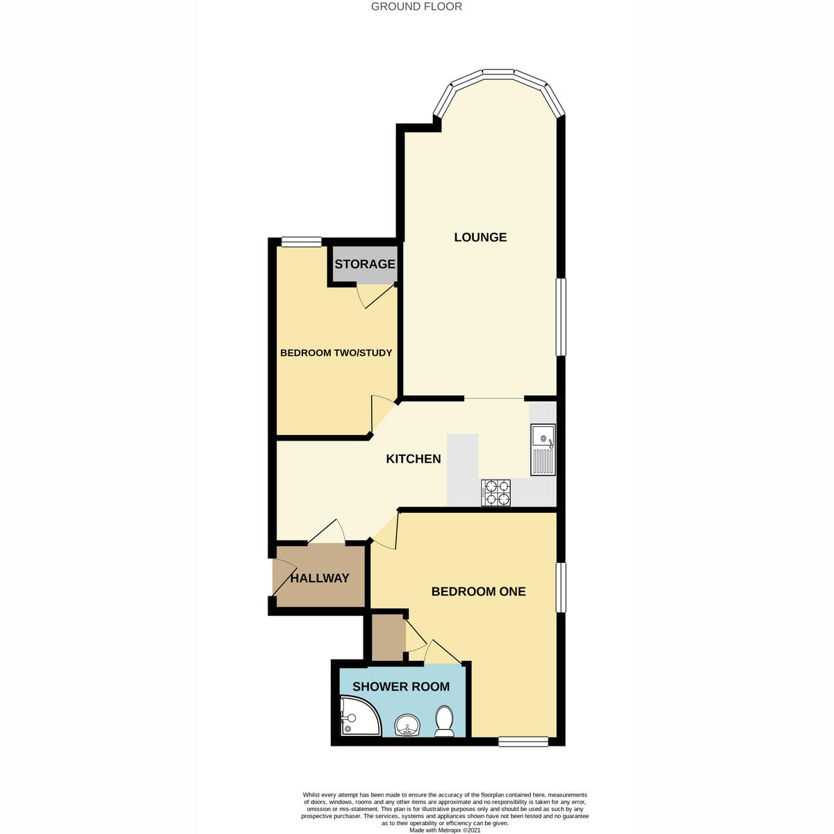 Floorplan 1 of The Leas, Westcliff-on-sea, SS0