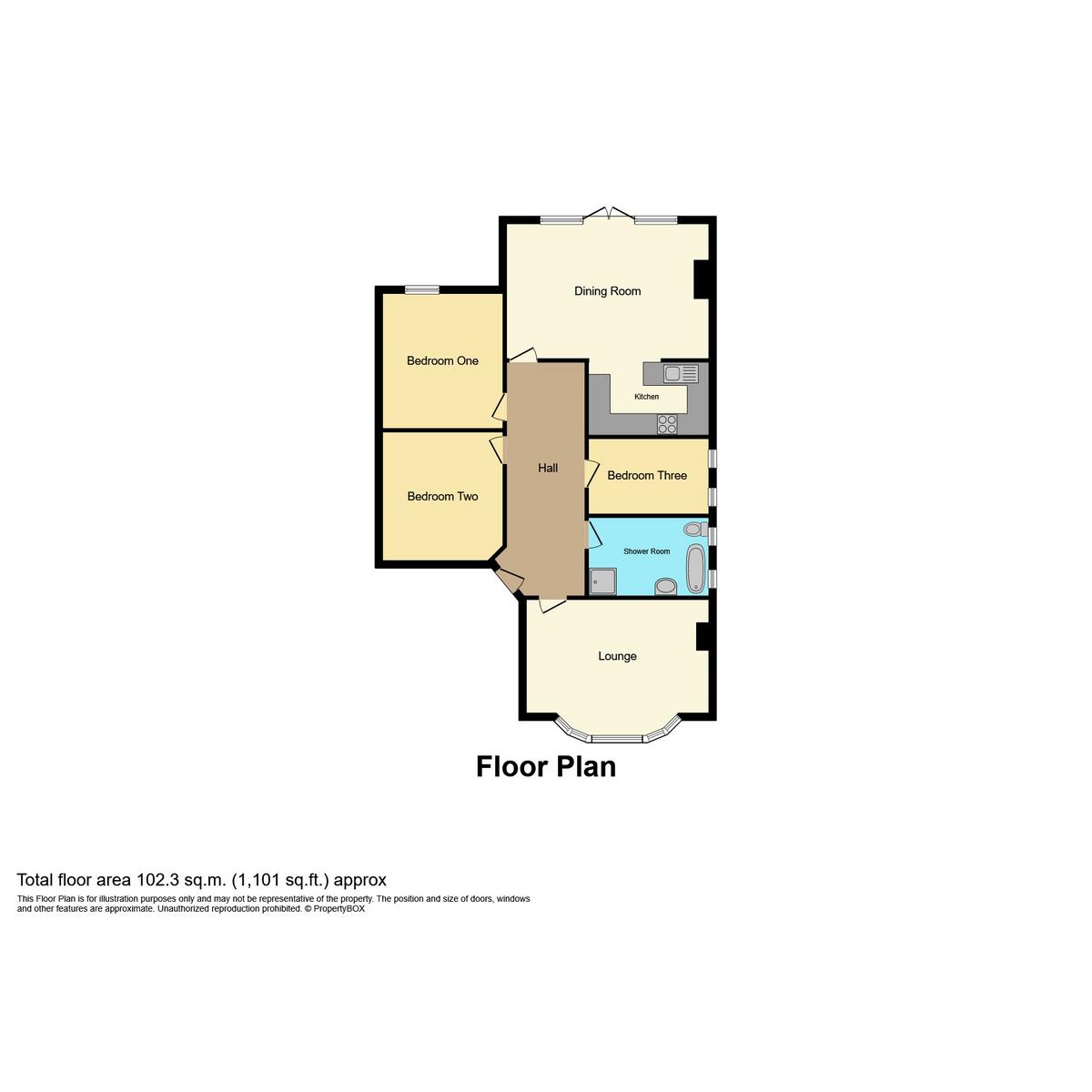 Floorplan 1 of Sackville Road, Southend-on-sea, SS2