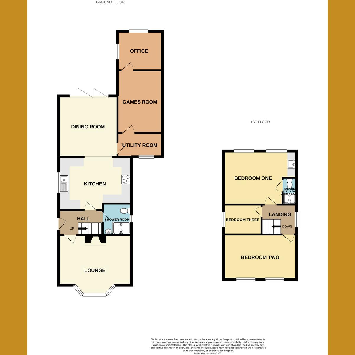 Floorplan 1 of Church Road, Benfleet, SS7