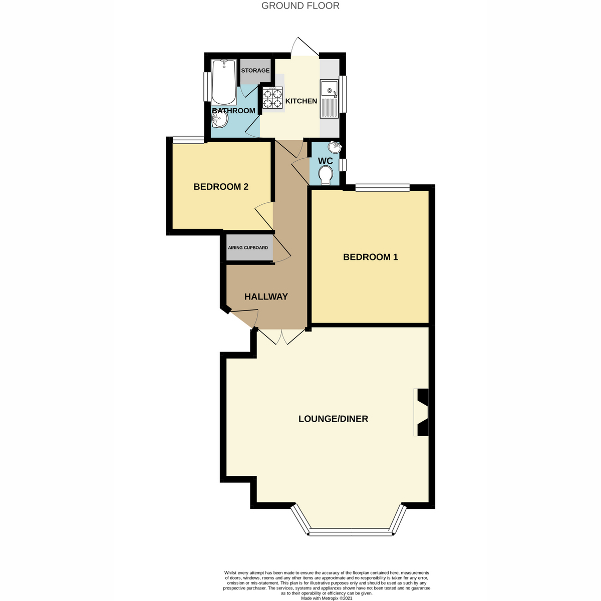 Floorplan 1 of Clifftown Parade, Southend-on-sea, SS1