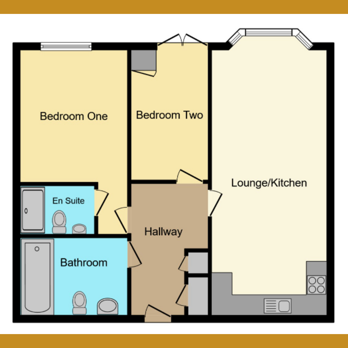 Floorplan 1 of Albany Court, Leigh-on-sea, SS9
