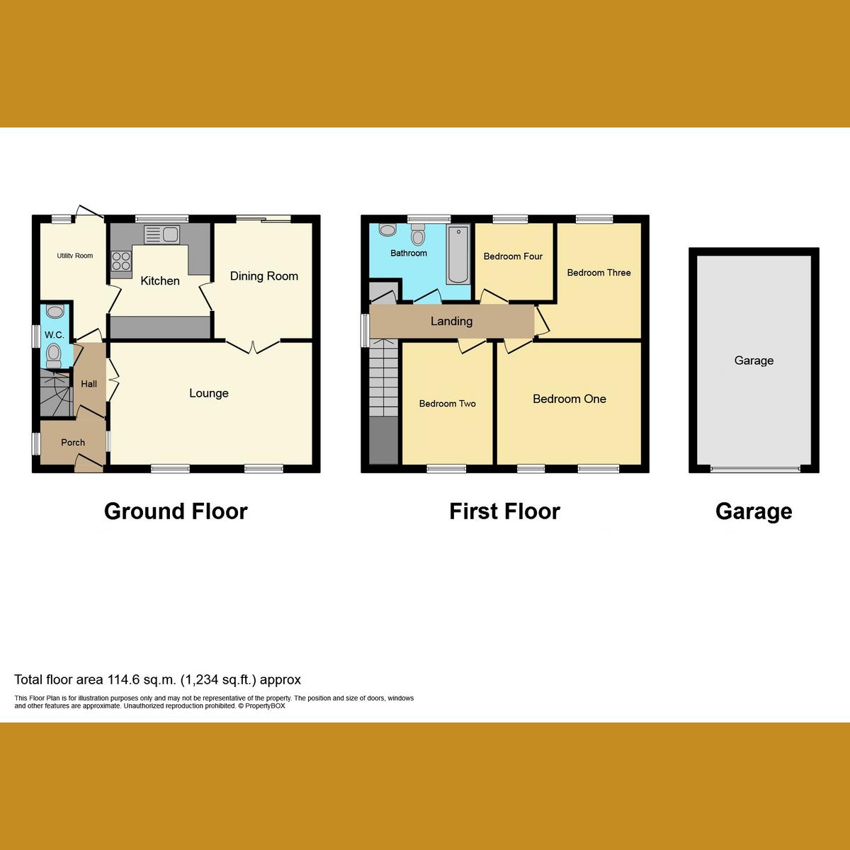 Floorplan 1 of Shepard Close, Leigh-on-sea, SS9