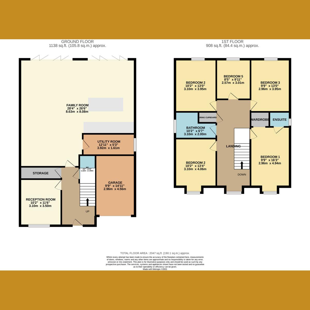 Floorplan 1 of Woodfield Road, Benfleet, SS7