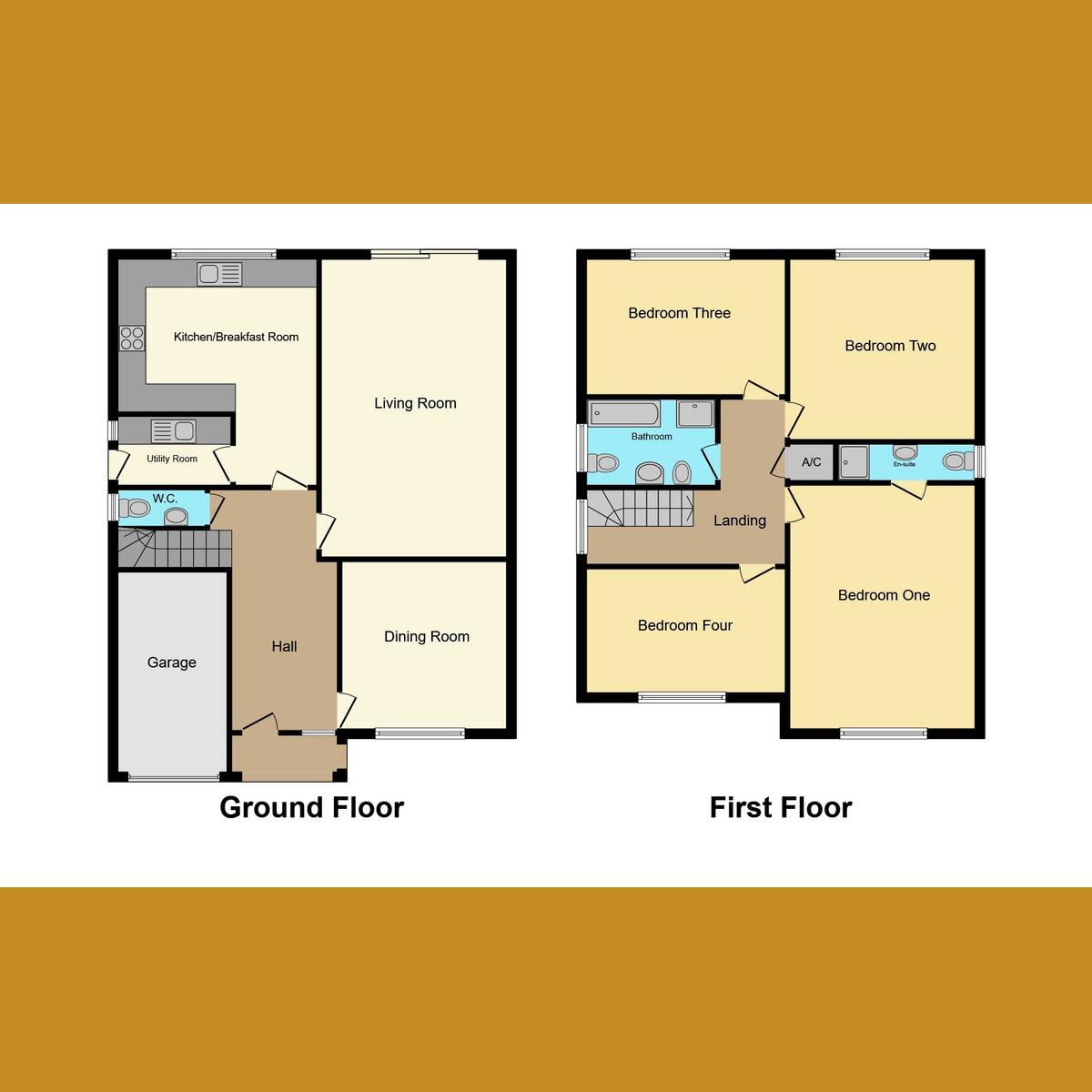 Floorplan 1 of Leonard Drive, Rayleigh, SS6