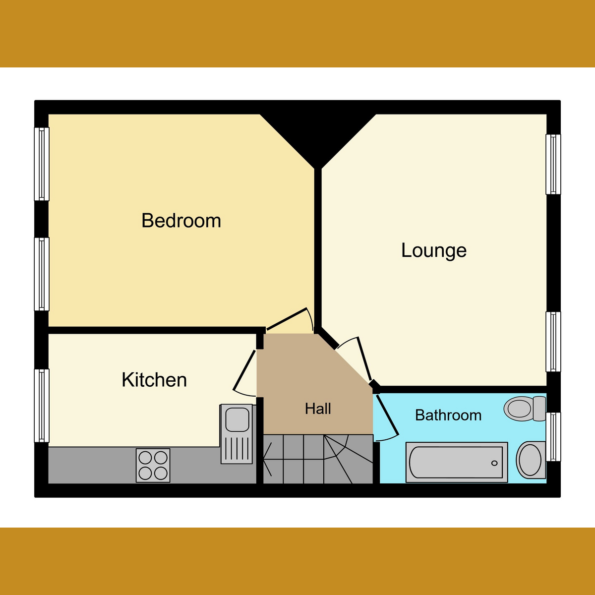 Floorplan 1 of Westcliff Drive, Leigh-on-sea, SS9
