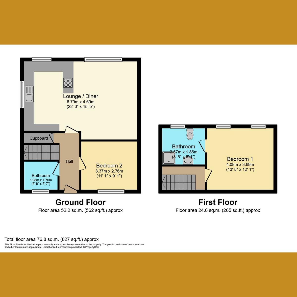 Floorplan 1 of Oak Road North, Essex, SS7
