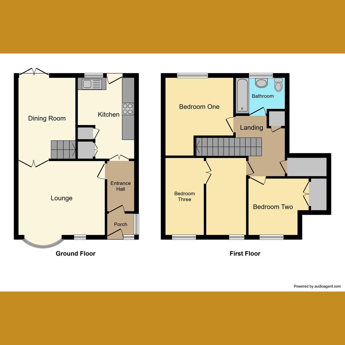 Floorplan 1 of Rydal Close, Rayleigh, SS6