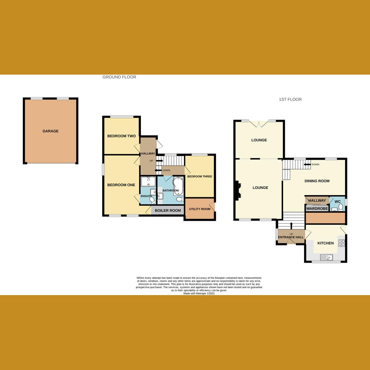 Floorplan 1 of Western Road, Rayleigh, SS6