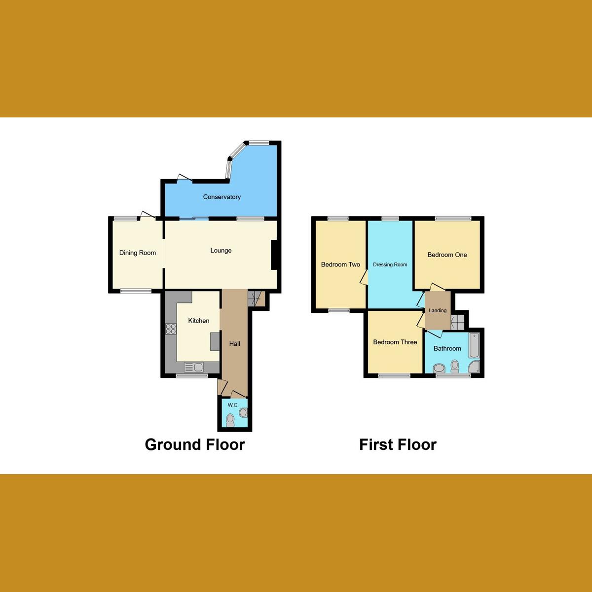 Floorplan 1 of Drake Close, Benfleet, SS7