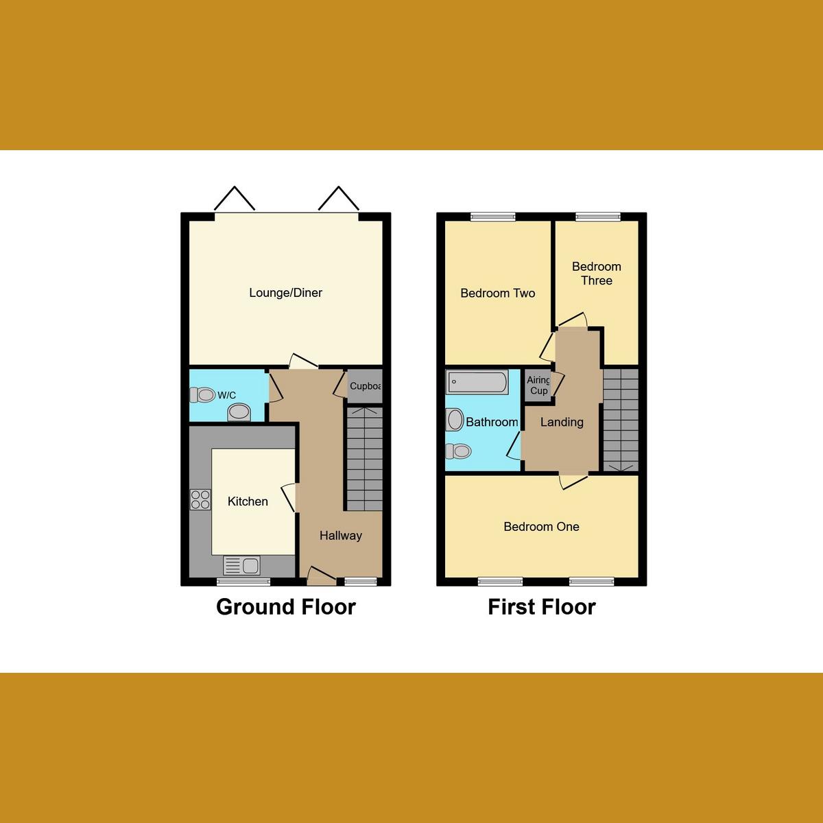Floorplan 1 of Highwell Gardens, Hockley, SS5